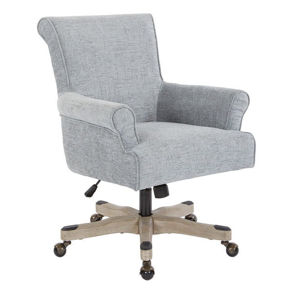 OSP Designs Megan Office Chair in Mist
