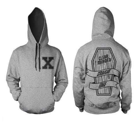 Coffin Hoodie - Clear Minded Clothing