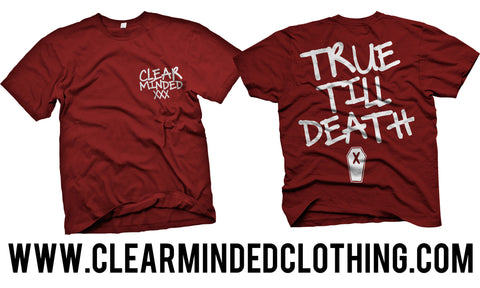 Quick Hand Shirt (Red) - Clear Minded Clothing