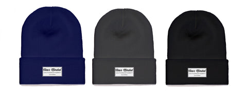 Clear Minded Simple Beanies - Clear Minded Clothing