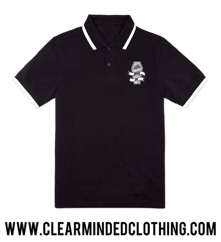 Coffin Polo Shirt - Clear Minded Clothing