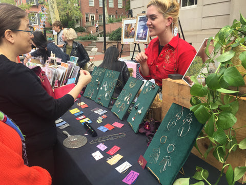 Selling at the RISD Alumni Sale 2018