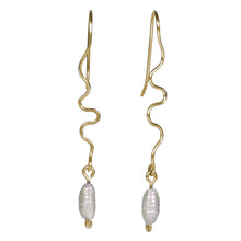 Load image into Gallery viewer, Dolores Earrings, Pearl