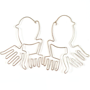 Manos Earrings