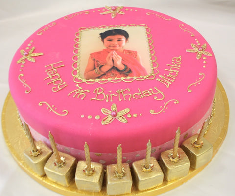 We Can Print Your Photo As An Edible Image Ready To Add Cake