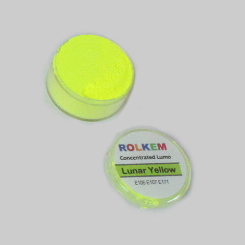 Rolkem Lunar Yellow Lumo Food Colour