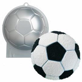 Wilton Soccer Ball Tin , Cake Tin