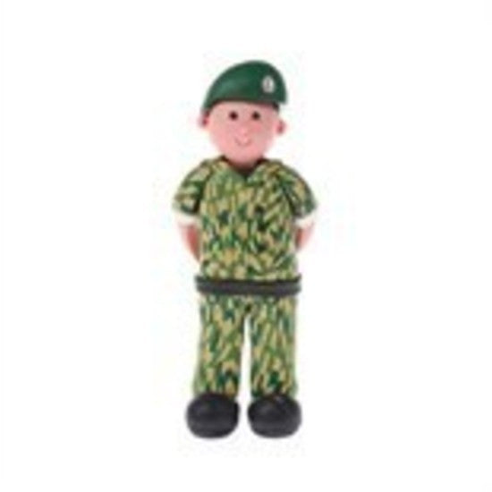 Claydough Soldier , Figurine
