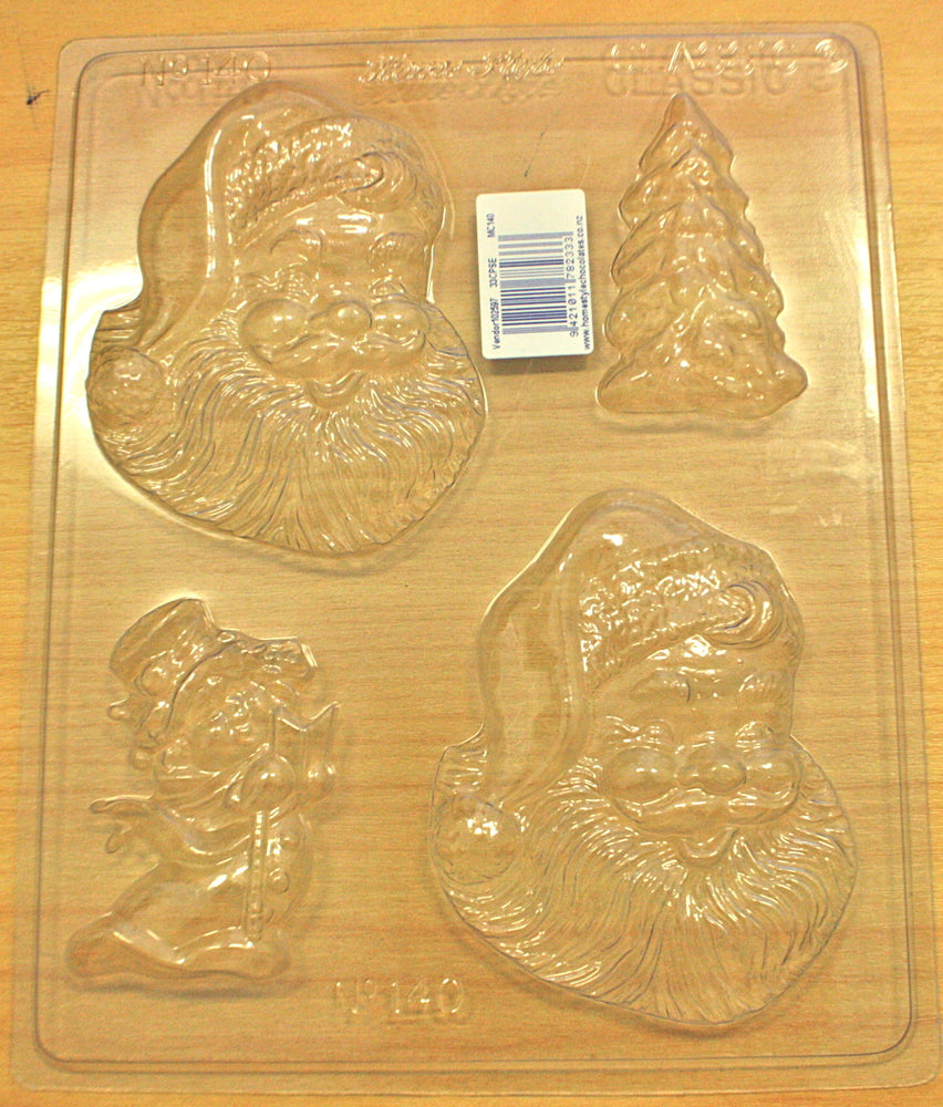 Chocolate Mould- Happy Santa , Mould