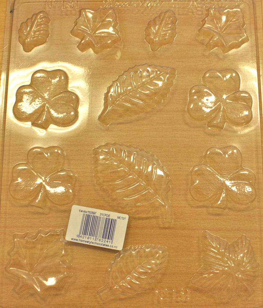 Chocolate Moulds- Leaves 131