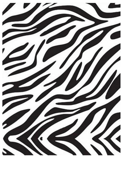 Edible Image- Zebra Sheet