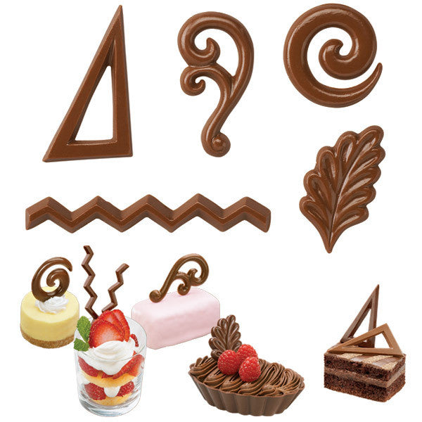 Wilton Dessert Accents Candy Mould
