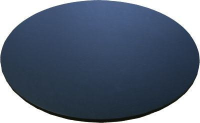 GB 4mm Cake Board- Black- Round- 25cm