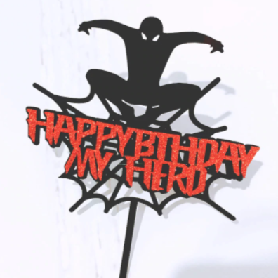 Spiderman Acrylic Topper