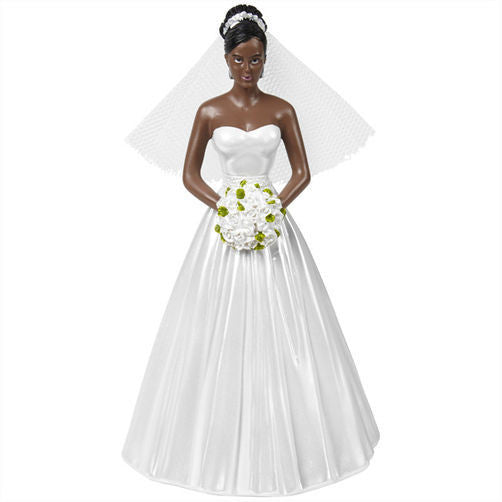 Wilton Bride- Single Afr/Am , Figurine