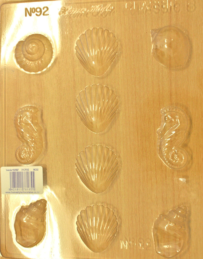 Chocolate Mould- Shells 92