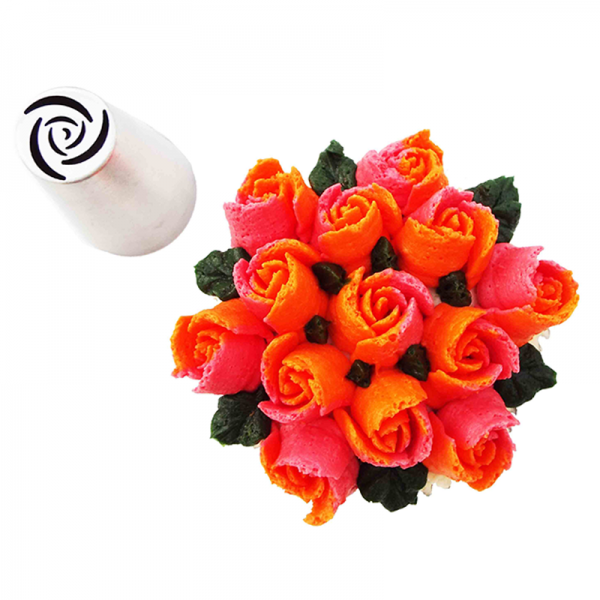 Russian Flower Piping Tip - Rose , Piping Tip