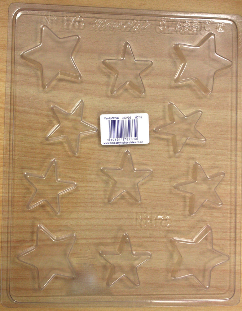 Chocolate Mould- Stars- 170 , chocolate mould