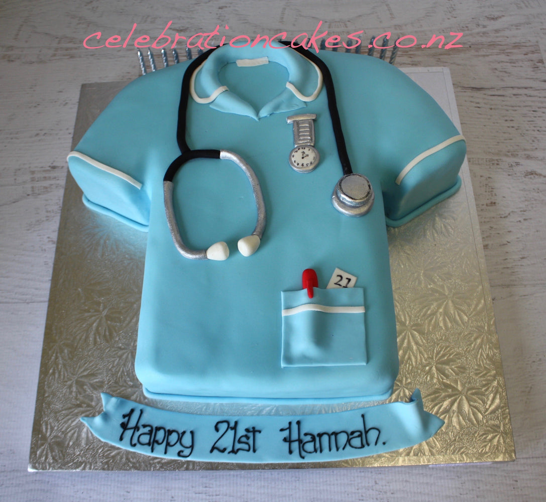 Nurses Uniform , cake