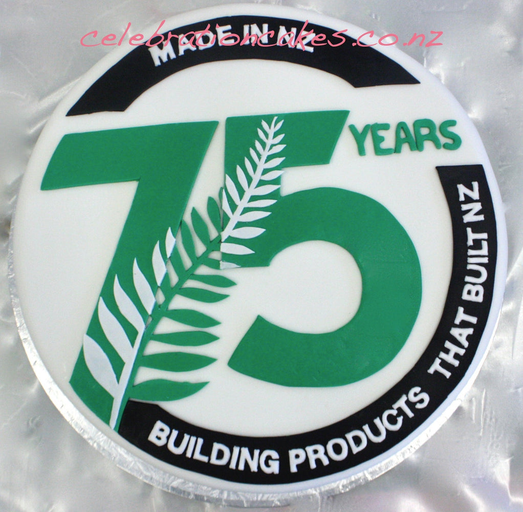 James Hardie 75th , cake