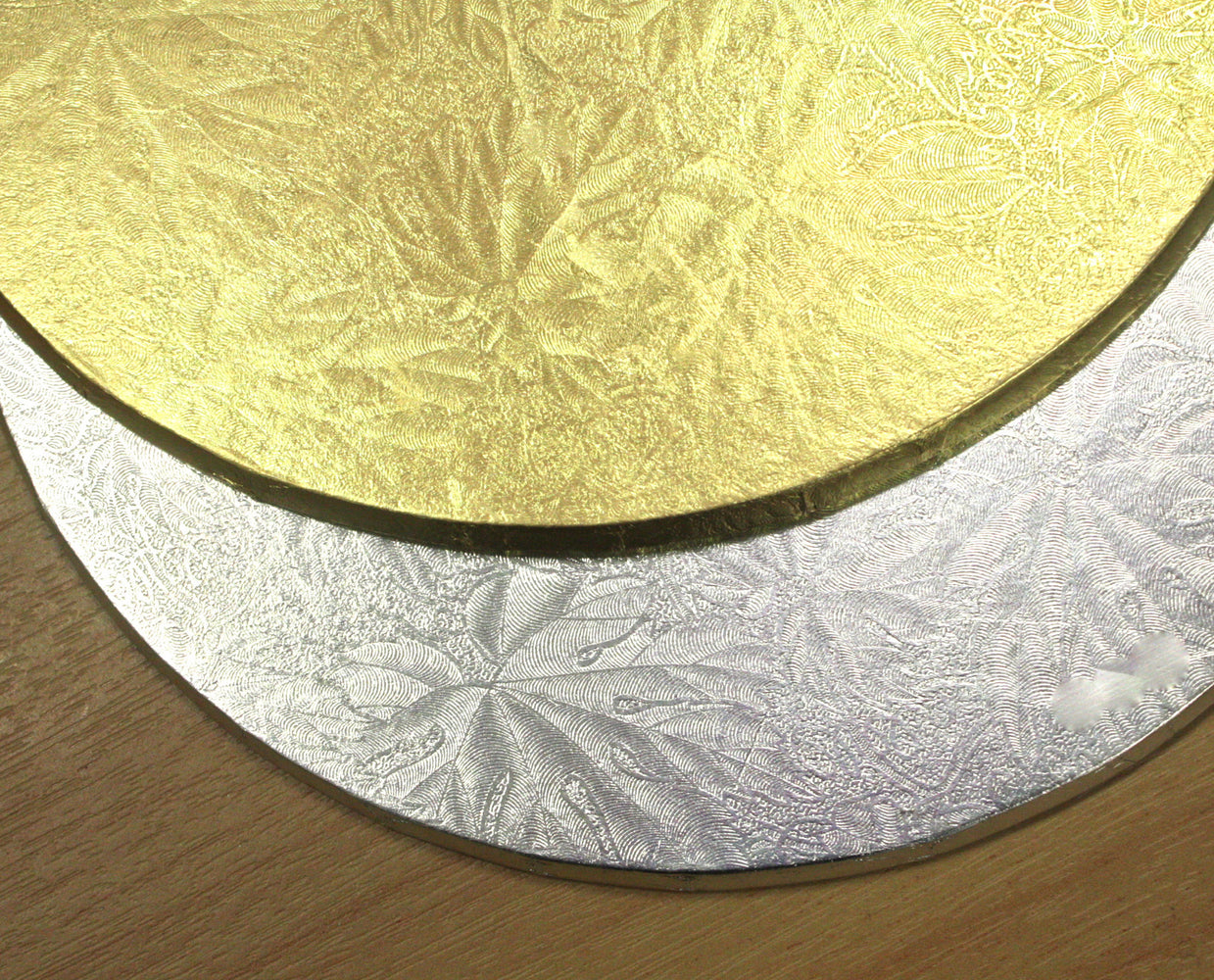 "Cake Board 4mm- Round 12"" Gold , cake board"