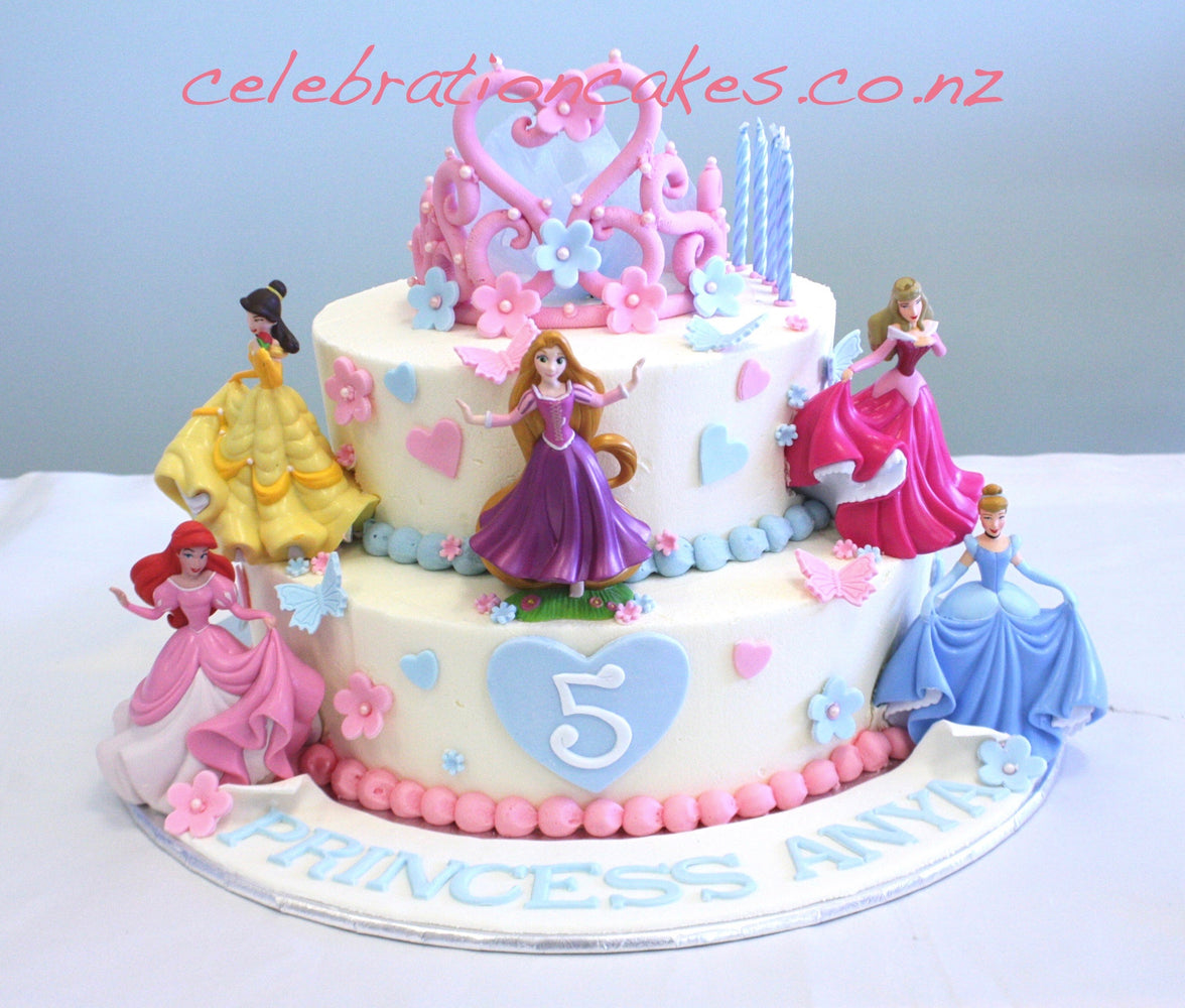 Princess 2 Tier , cake