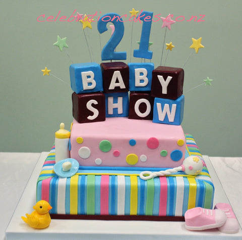 Baby Show Celebration Cakes cakes and decorating supplies NZ