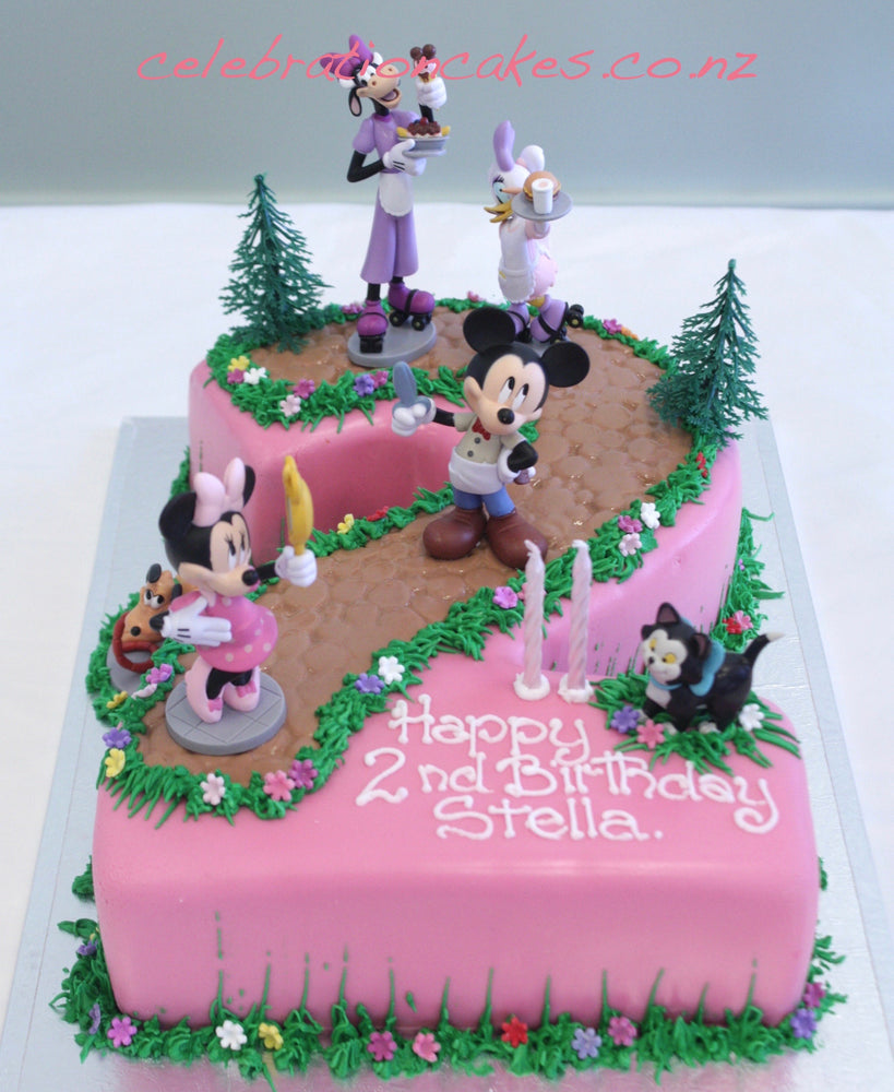 Minnie Number , cake