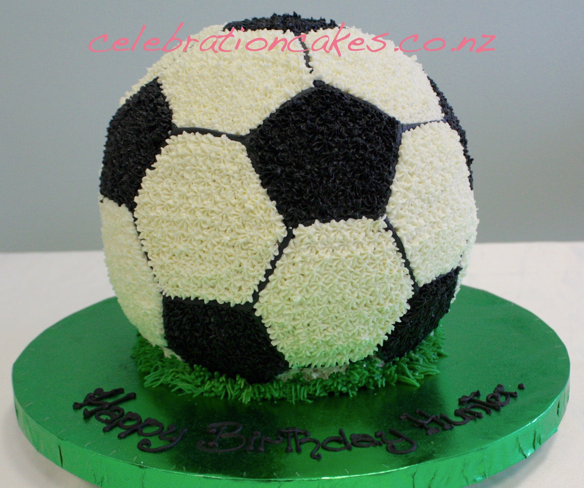 Buttercream Soccer Ball , cake