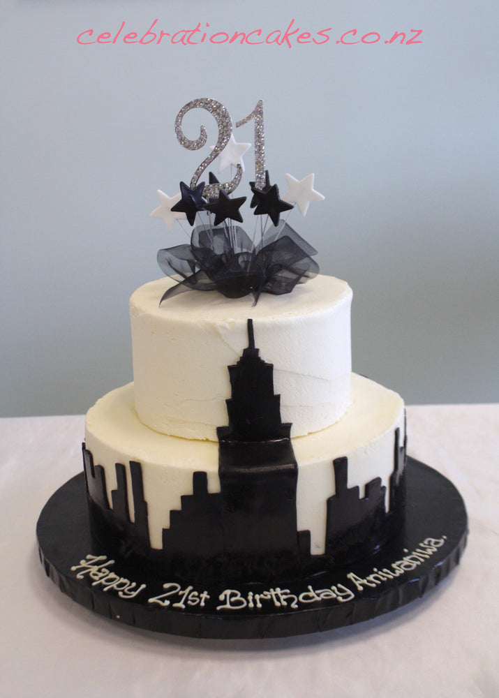 New York 2 Tier Cake