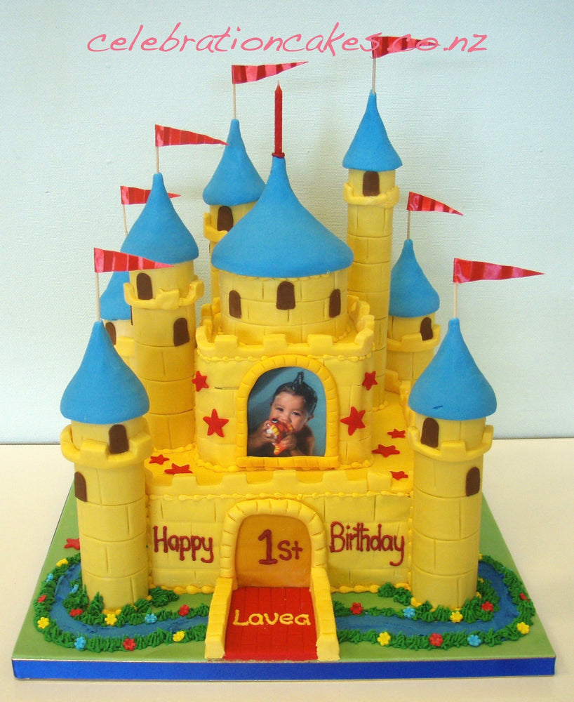 Yellow Castle , cake