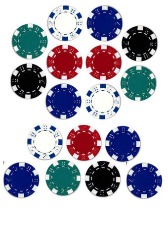 Edible Images- Poker Chips