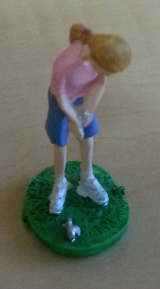 Mini Lady Golfer , Decoration