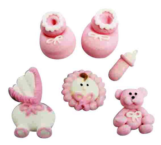 Edible Baby Set- Girl