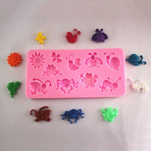 Insect Silicone Mould