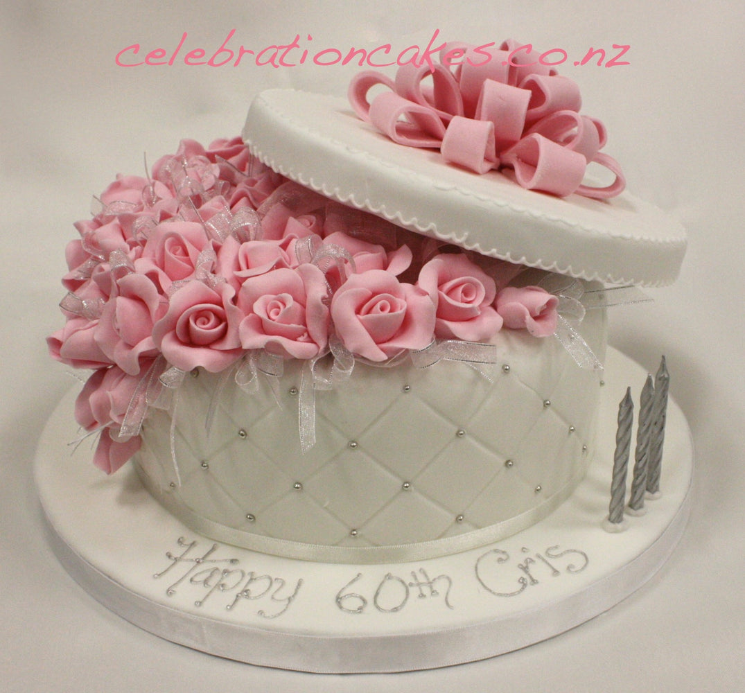 Diamond Rose Box , cake