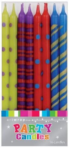 Coloured Taper Candles , Candle