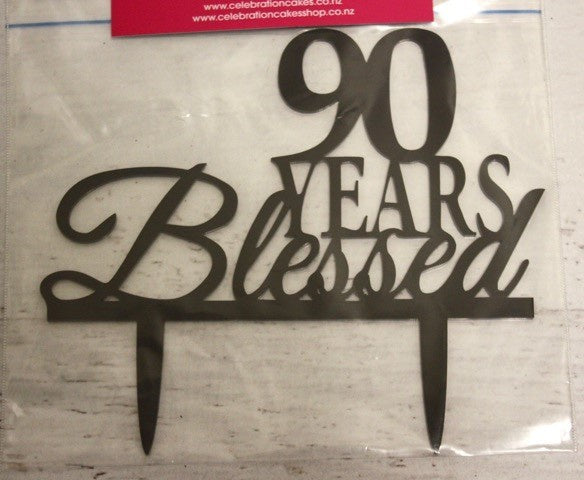 90 Years Blessed , Decoration