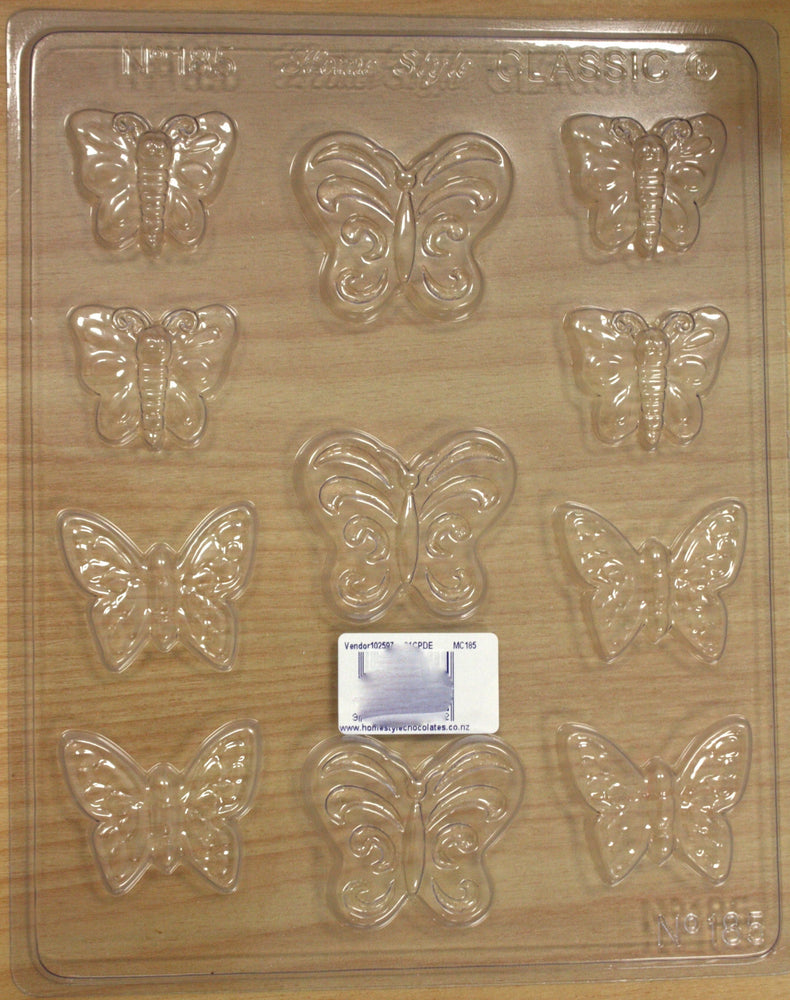 Chocolate Mould- Butterflies - 185