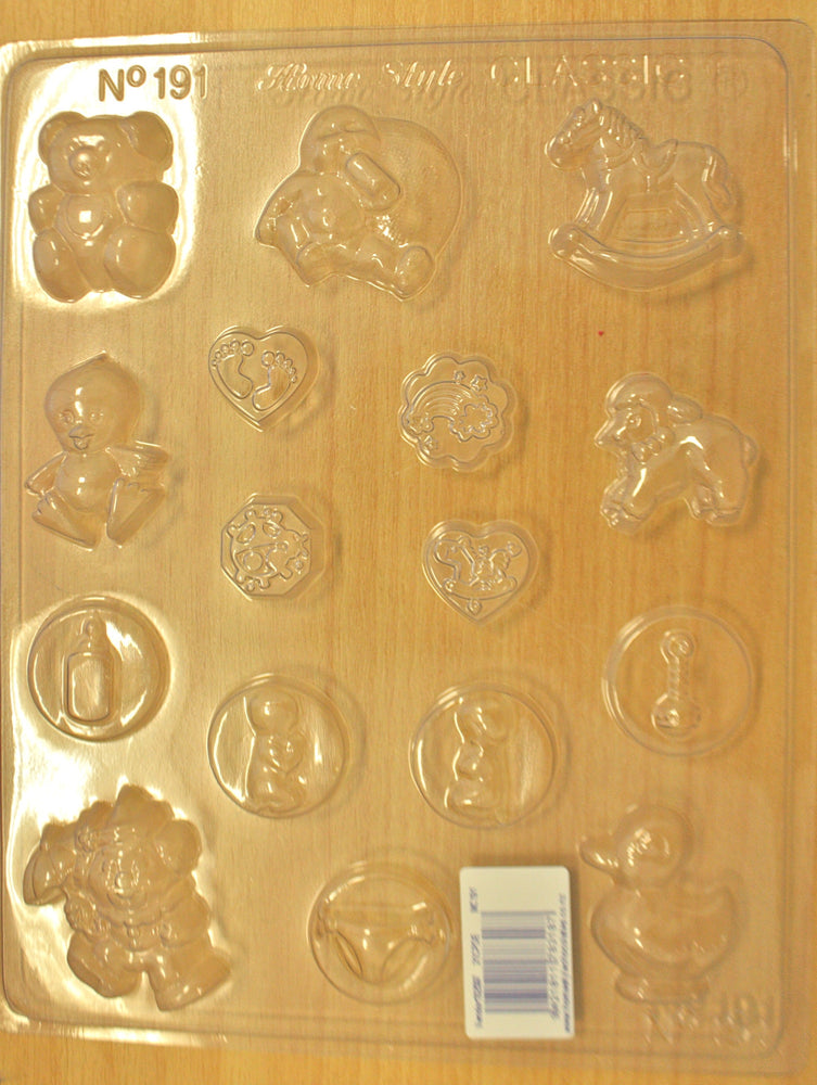 Chocolate Mould- Baby Shower 191