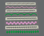 FMM Geometric Edging Set , Cutters