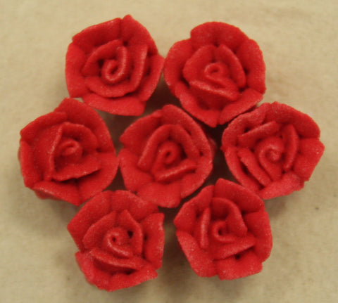 Piped Roses- Red