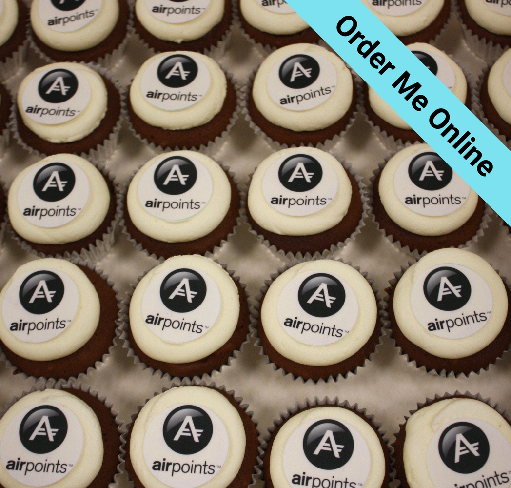 Cupcakes With Flat Logo