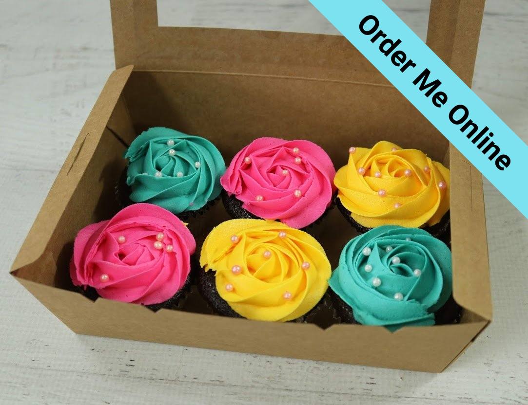Tropical Cupcakes Boxed