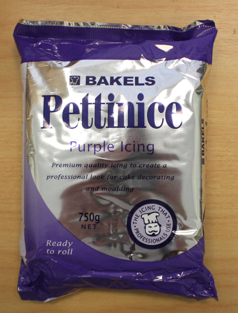 Bakels Purple Fondant , Icings