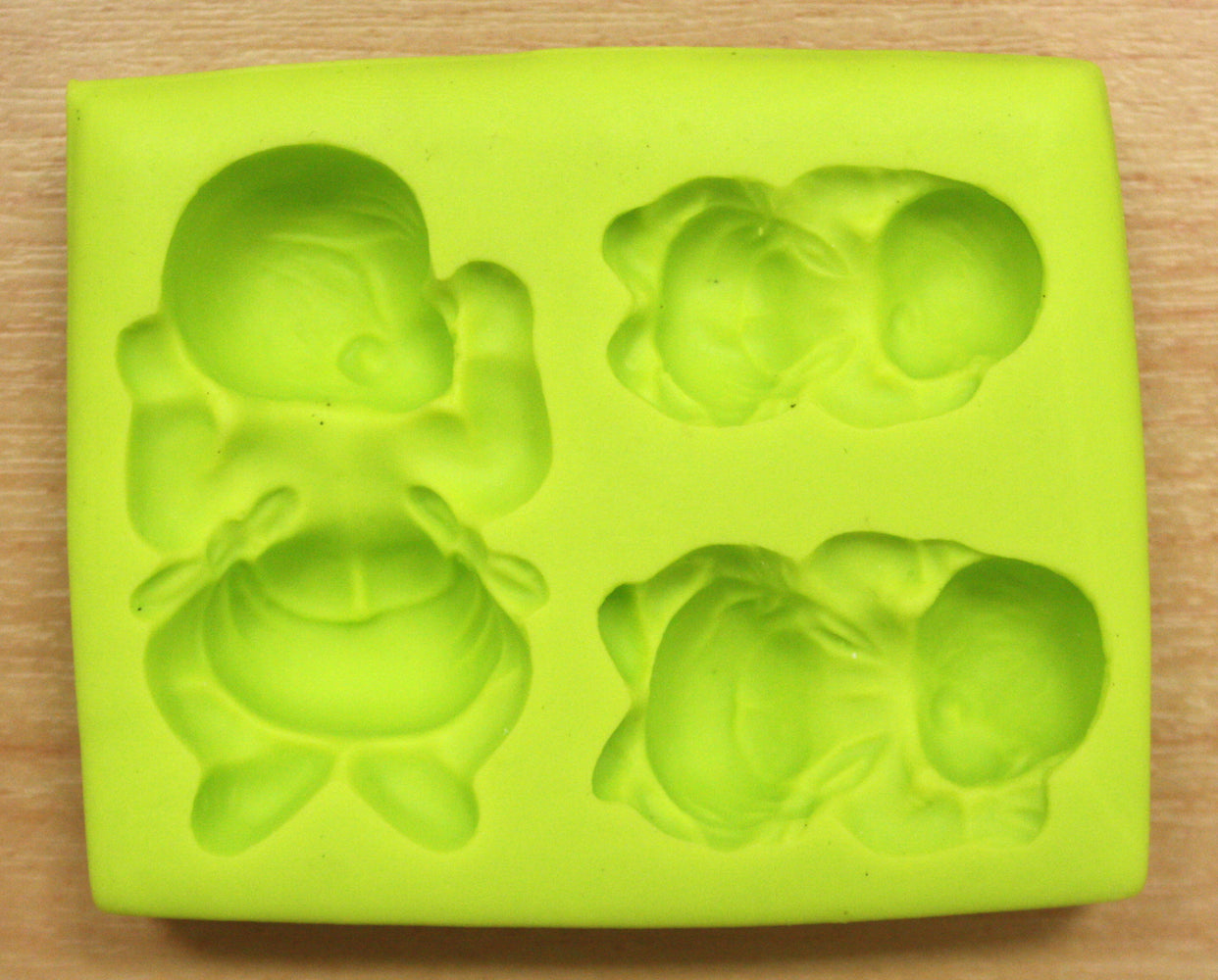 Sleeping Baby Set Silicone Mould