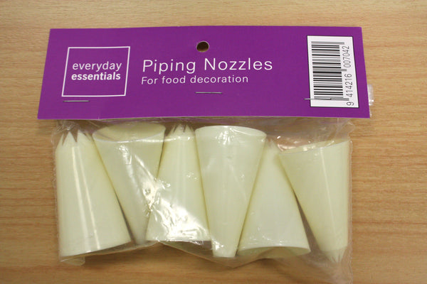 Large Plastic Piping Tips.