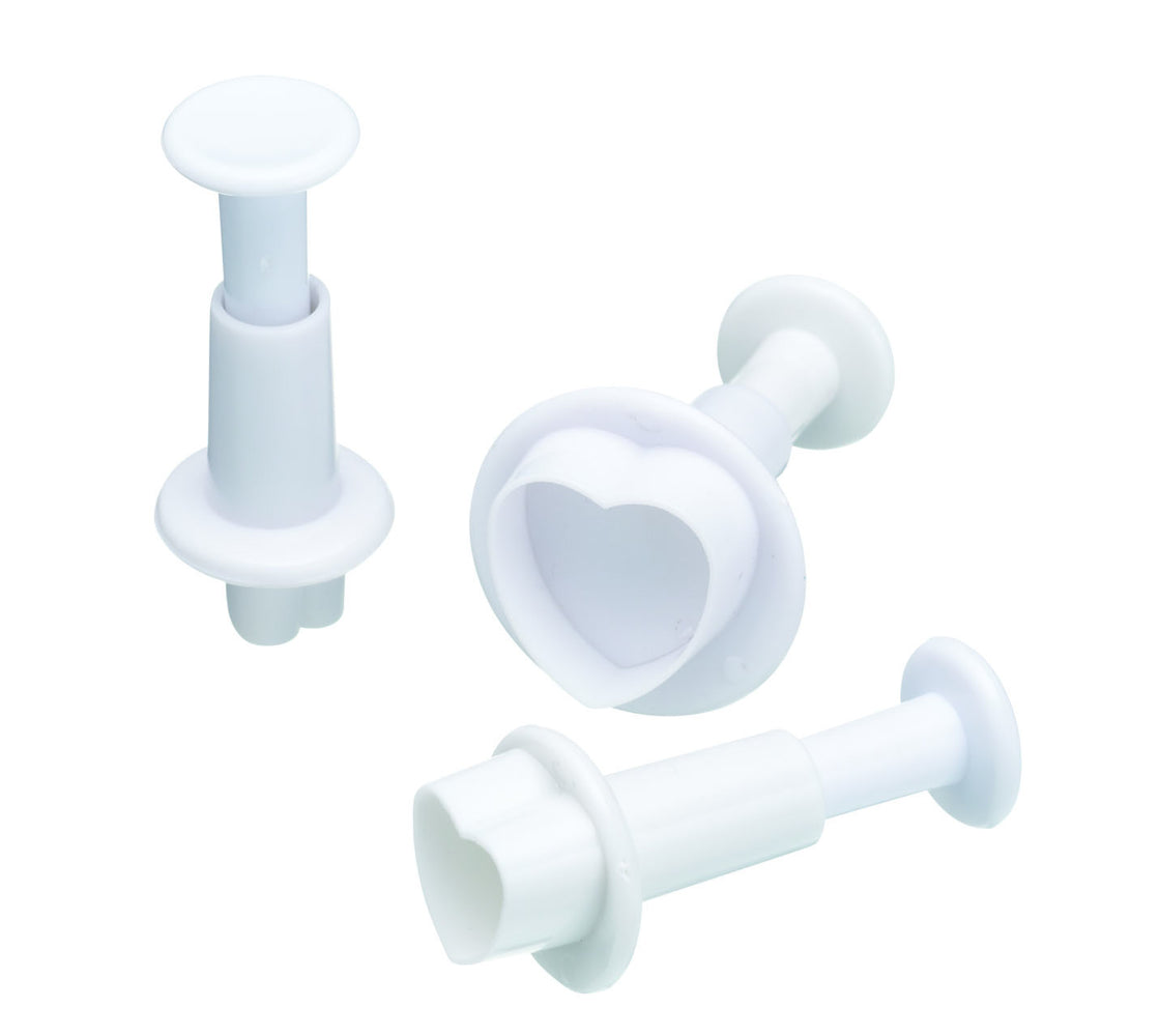 Heart Plunger Cutter Set