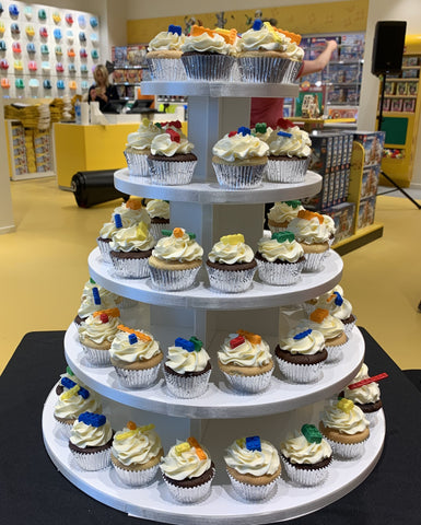 Lego Store Opening Cake & Cupcakes
