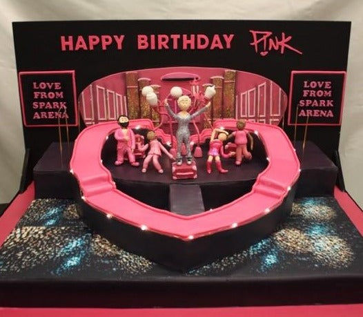 Birthday Cake for Pink